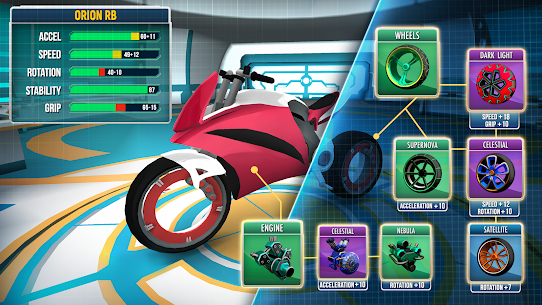 Gravity Rider Mod APK (Infinite Money/No Ads) for Android 3
