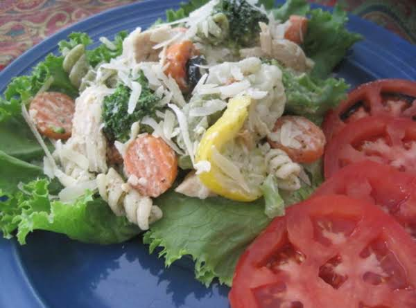 Simple Sally Salad With Chicken And Pasta