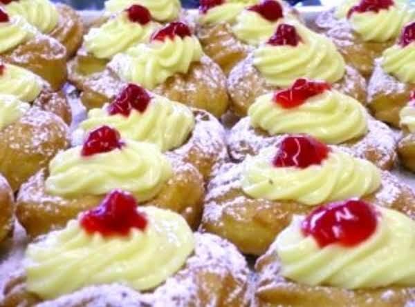 Zeppole Di San Giuseppe Recipe