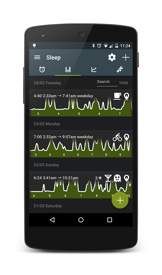 Sleep as Android – Screenshot