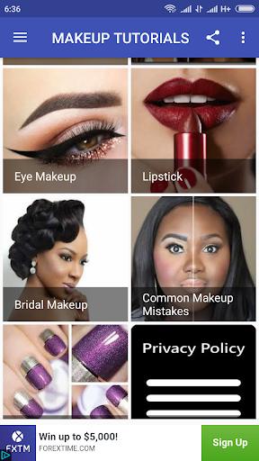 Makeup Tutorials 1.0 screenshots 3
