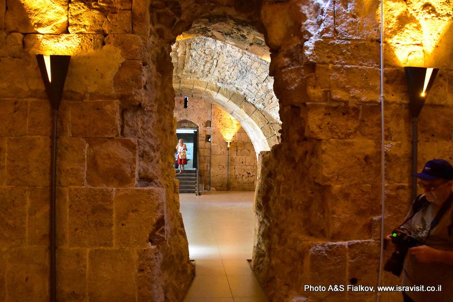 Экскурсия в крепость крестоносцев в Акре. Гид Светлана Фиалкова.