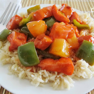 Baked Sweet & Sour Chicken.