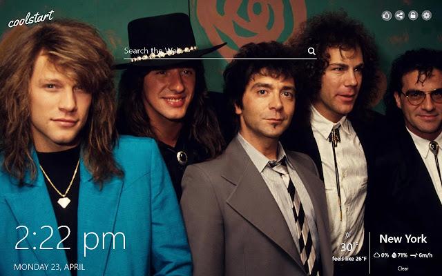 Bon Jovi HD Wallpapers Rock New Tab Theme