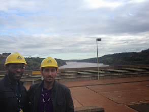 Photo: On top of the dam On top the dam (photo credit: Raj Dhar)