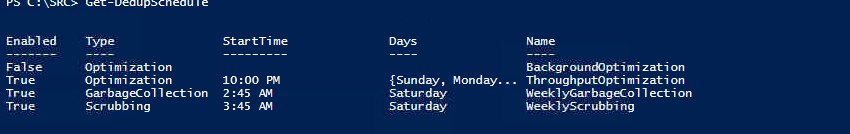 PowerShell Schedule Check