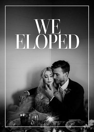 We Eloped - Wedding template
