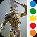 Figuromo Artist : Orc Rage icon