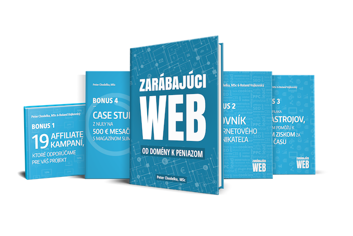 Kniha Zarábajúci web