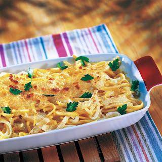 Spätzle in Schinken-Gorgonzola Sauce