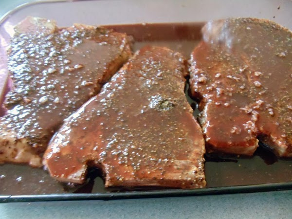 Close bags or cover dish and refrigerate several hours. Turn steak once or twice...