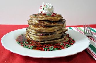 Photo: Gingerbread Pancakes - A thick and fluffy pancake made with greek yogurt and tastes like a gingerbread cookie.  http://www.peanutbutterandpeppers.com/2012/12/25/merry-christmas-breakfast-is-served/  #gingerbread   #pancakes   #yogurtpancakes   #breakfast   #gingerbreadcookie   #Christmas