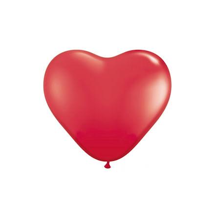 Ballonghjärtan - Röda