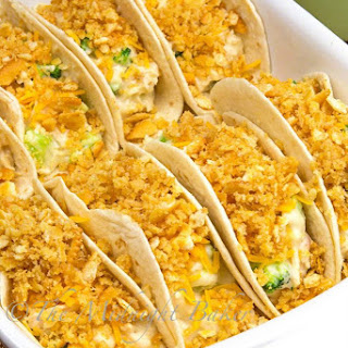 Chicken Divan Tacos
