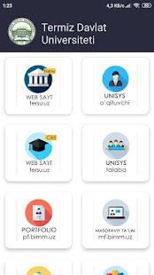 Download Termiz davlat universitetining mobil ilovasi For PC Windows and Mac apk screenshot 1