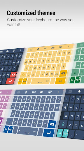 ZenUI Keyboard – Emoji, Theme screenshot 3