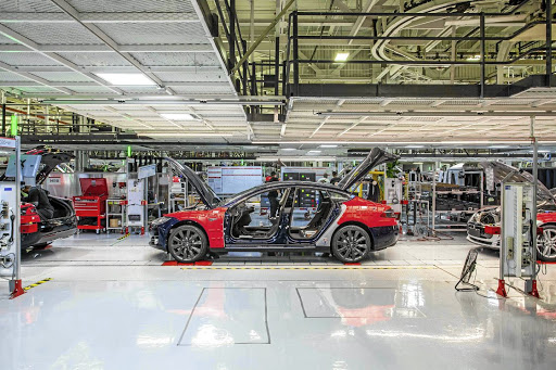 Tesla's woes continue as it slows production to meet logistics issues.  Picture: TESLA MOTORS