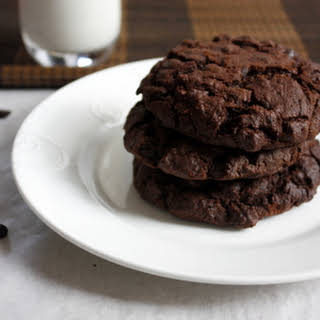 Tripple Chocolate Chip Cookies.