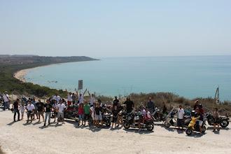 Photo: I bikers del primo motoraduno  a Eraclea Minoa foto Domenico Oliveri