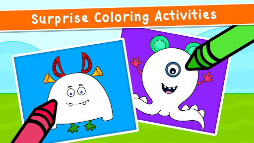 Coloring Games for Kids - Drawing & Color Book  screenshots 5