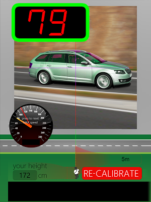 Speed Gun - screenshot