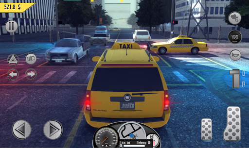 Real Taxi Sim 2018 3.1 screenshots 9