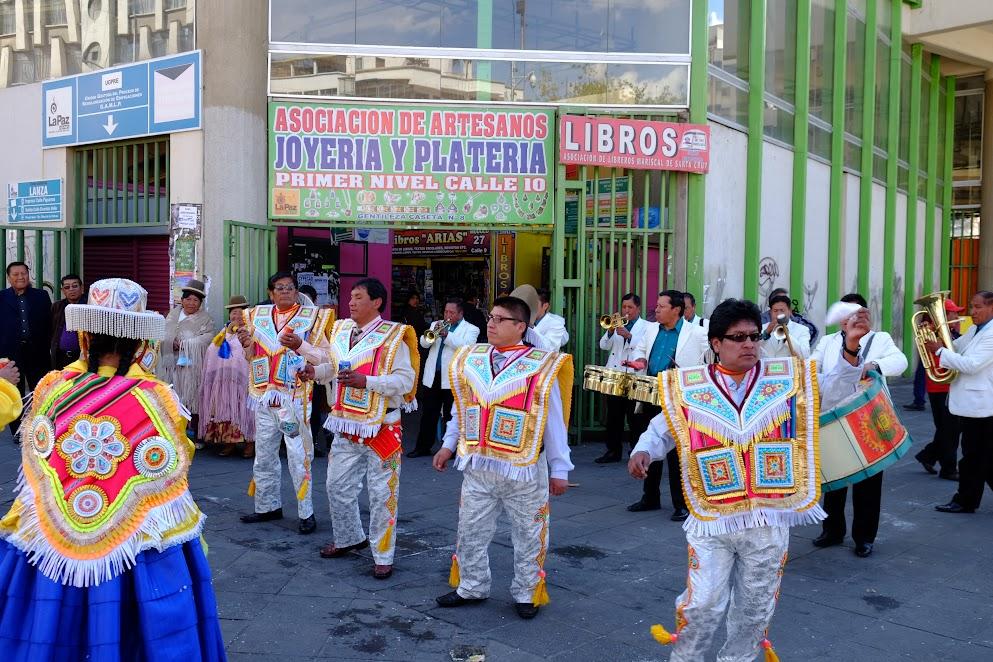 Niedziela w La Paz