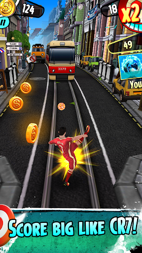 Cristiano Ronaldo: Kick'n'Run u2013 Football Runner  screenshots 3