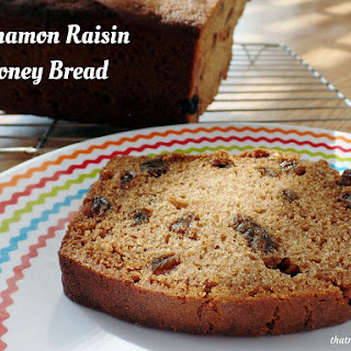 Cinnamon Raisin Honey Bread.