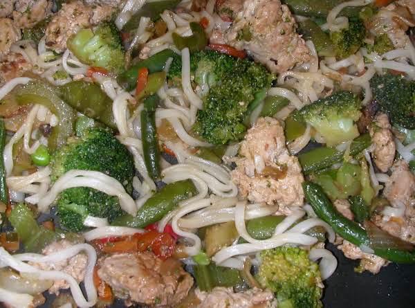 Oriental Stir Fry Pork