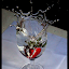 Strawberry Drop by Pathum Herath - Artistic Objects Other Objects ( clear, cool, water, drops.dark, clean, colorful, drop, beautiful, split, strawberry, black )