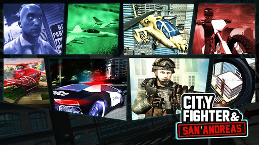 City Fighter and San Andreas 1.1.1 screenshots 1