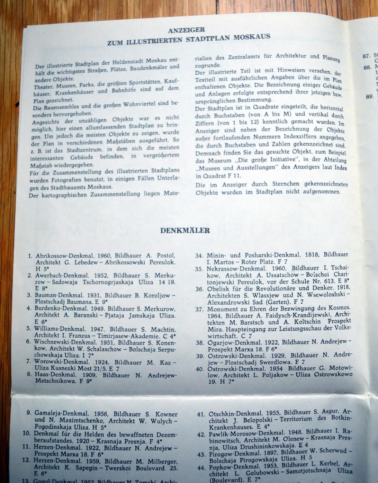 Besuchen Sie die Sowjetunion - Intourist-Prospekt
