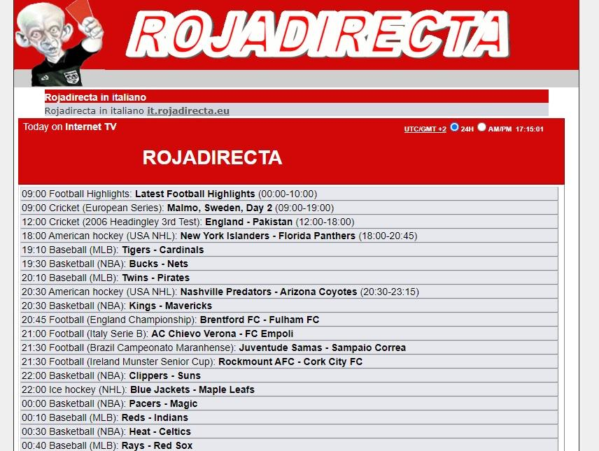 Rojadirecta | 🥇 What it is, how it works and how to watch streaming