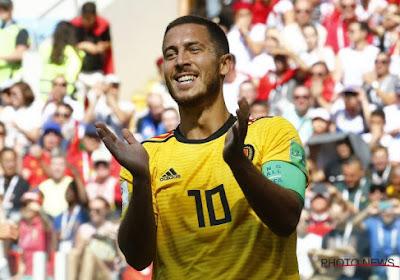 Un seul joueur fait aussi bien qu'Eden Hazard à cette Coupe du Monde !