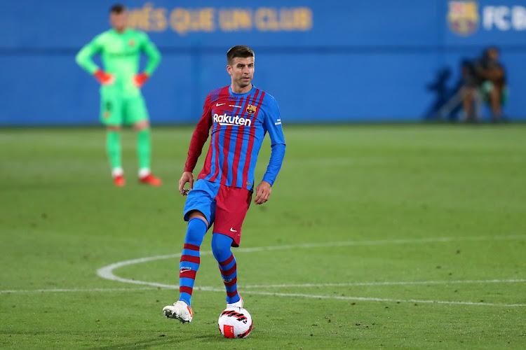"""Gerard Piqué explique la déroute du Barça et défend un coéquipier : """"Le voir se faire siffler fait très mal"""""""