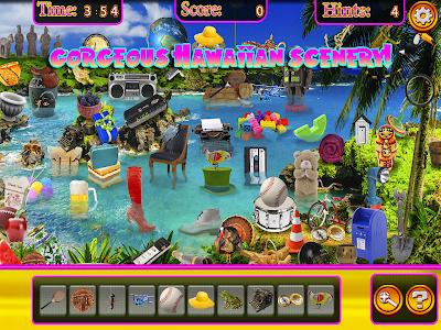 Hidden Objects Hawaii Vacation screenshot 2
