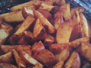 Crusty Potato Wedges Recipe