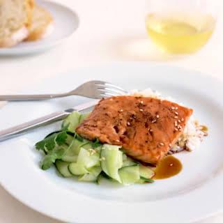 Glazed Salmon.