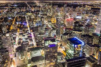 Photo: Toronto at Night, Toronto, Ontario, Canada