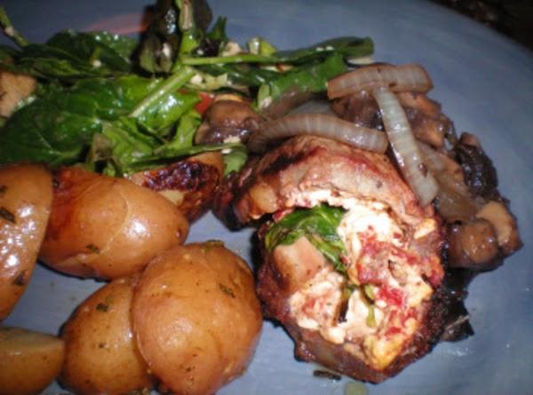 Stuffed New York Strip Steaks Recipe