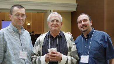 Photo: Mirek, Victor & GB - Program, General & Program chairs