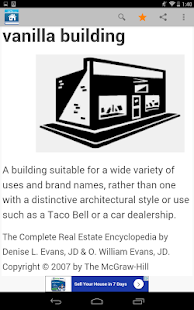 Real Estate Dictionary- screenshot thumbnail