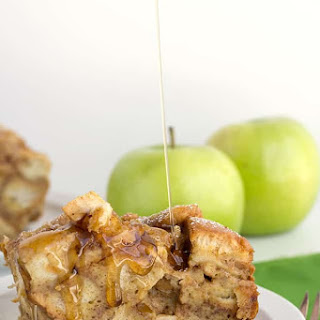 Slow Cooker Apple Cinnamon French Toast Recipe