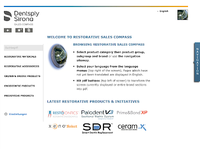 Dentsply Sirona Sales Compass screenshot 2