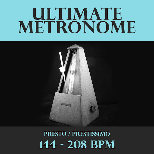Music Utility: Ultimate Metronome 144 - 208 BPM - Music on