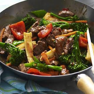 Garlic Beef Stir-fry.