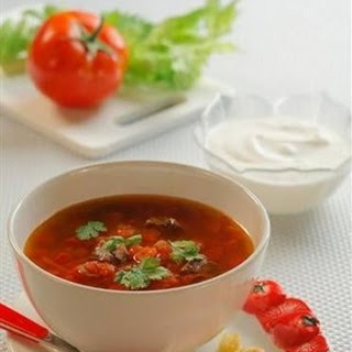 Holodnik (cold Soup With Tomatoes)