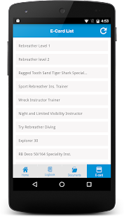 LearnToScuba App- screenshot thumbnail