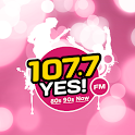 107.7 Yes! FM icon